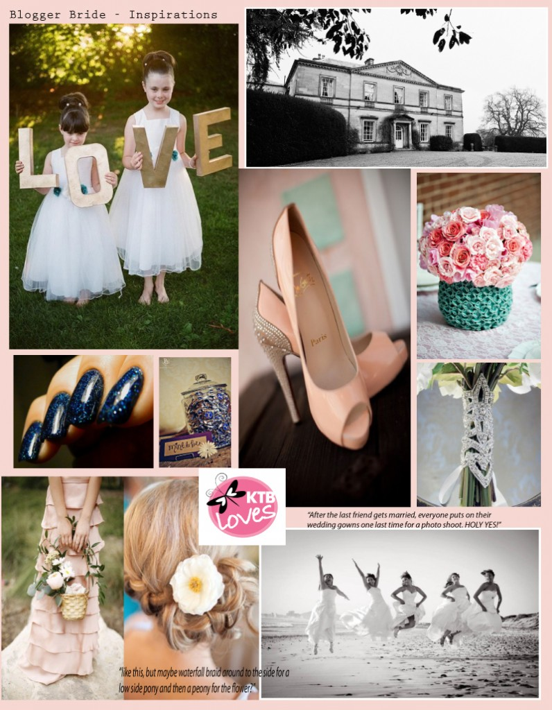 Pinterest Board with Wedding Inspirations