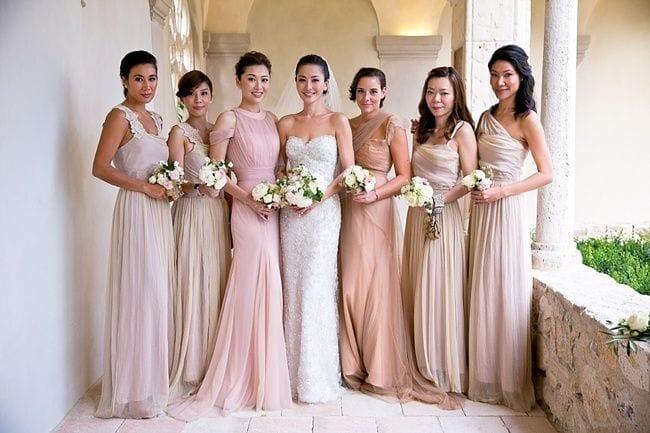 Bridemaid wedding traditions