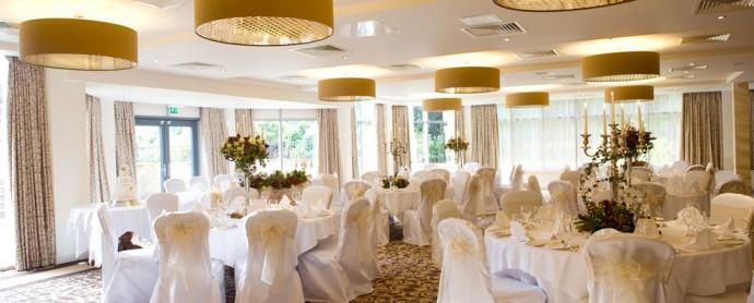 Wedding Set up at Raithwaite Hall