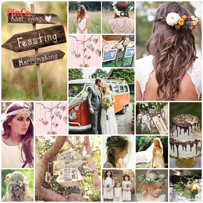 Mood Board Mondays – Boho Bride