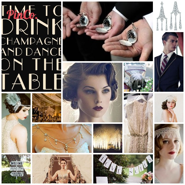 Mood Board Mondays – Glitz, Glamour and Gatsby