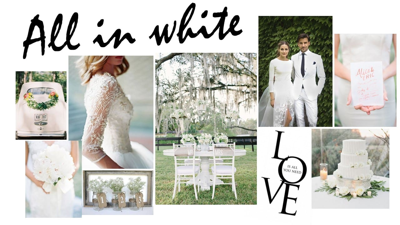 Mood Board Mondays: All in white