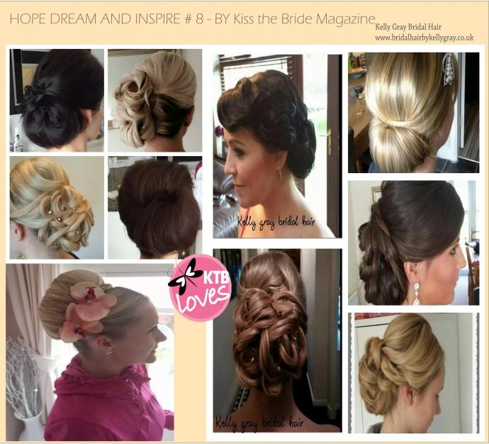 Kelly Gray Bridal Hair