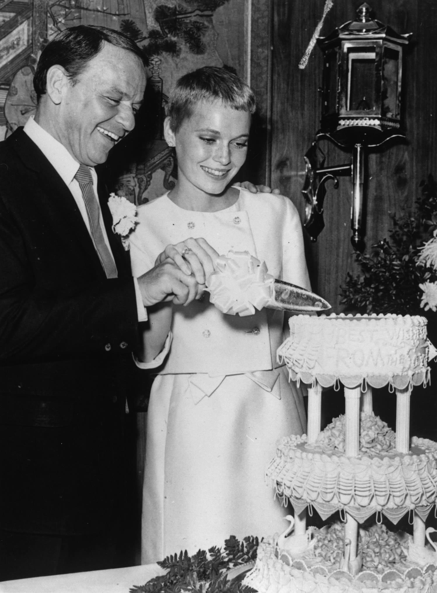 Mia Farrow wedding