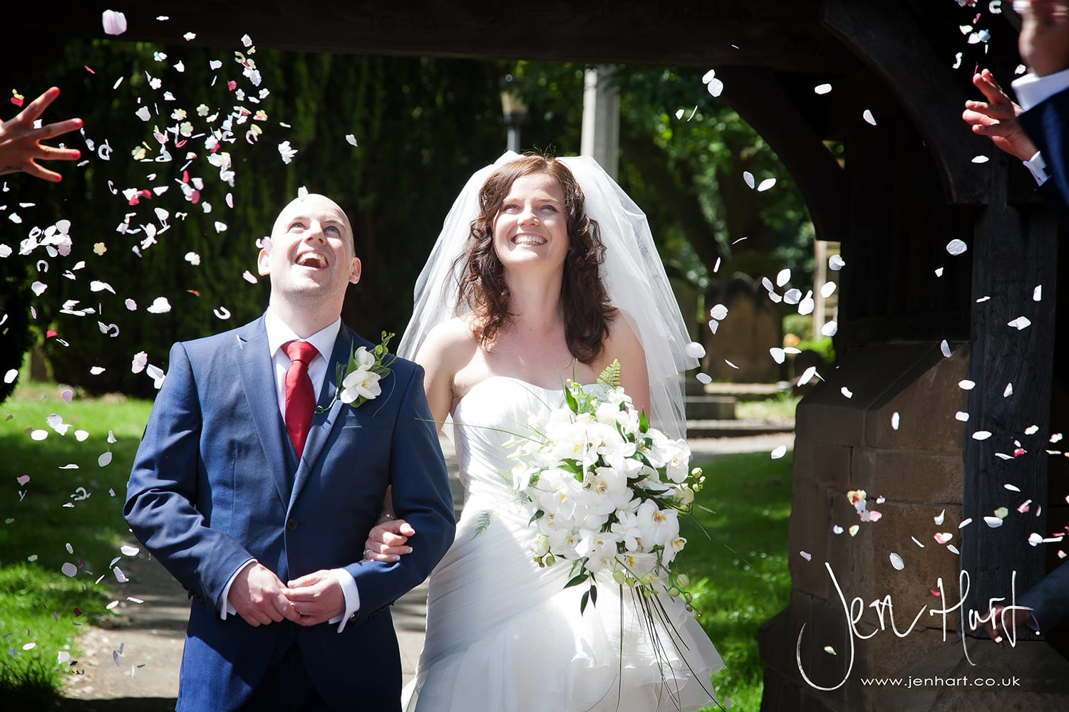 Real wedding: David & Joanne's fun, beautiful and relaxed day