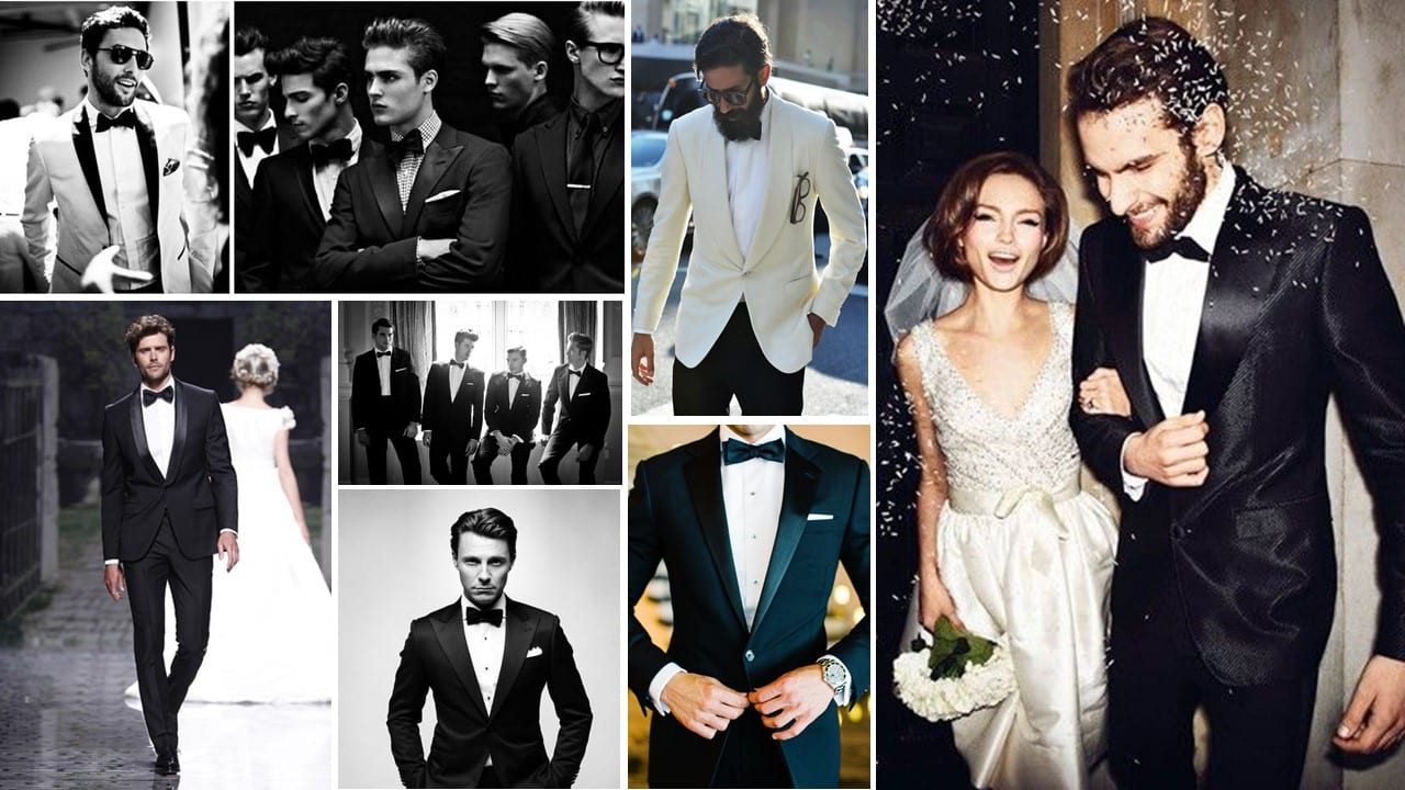 4 Key styles for the Grooms suit