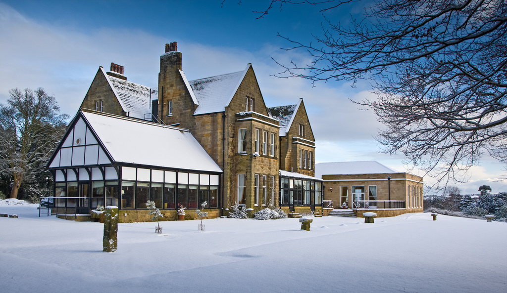 Grinkle Park Hotel – The perfect winter wonderland
