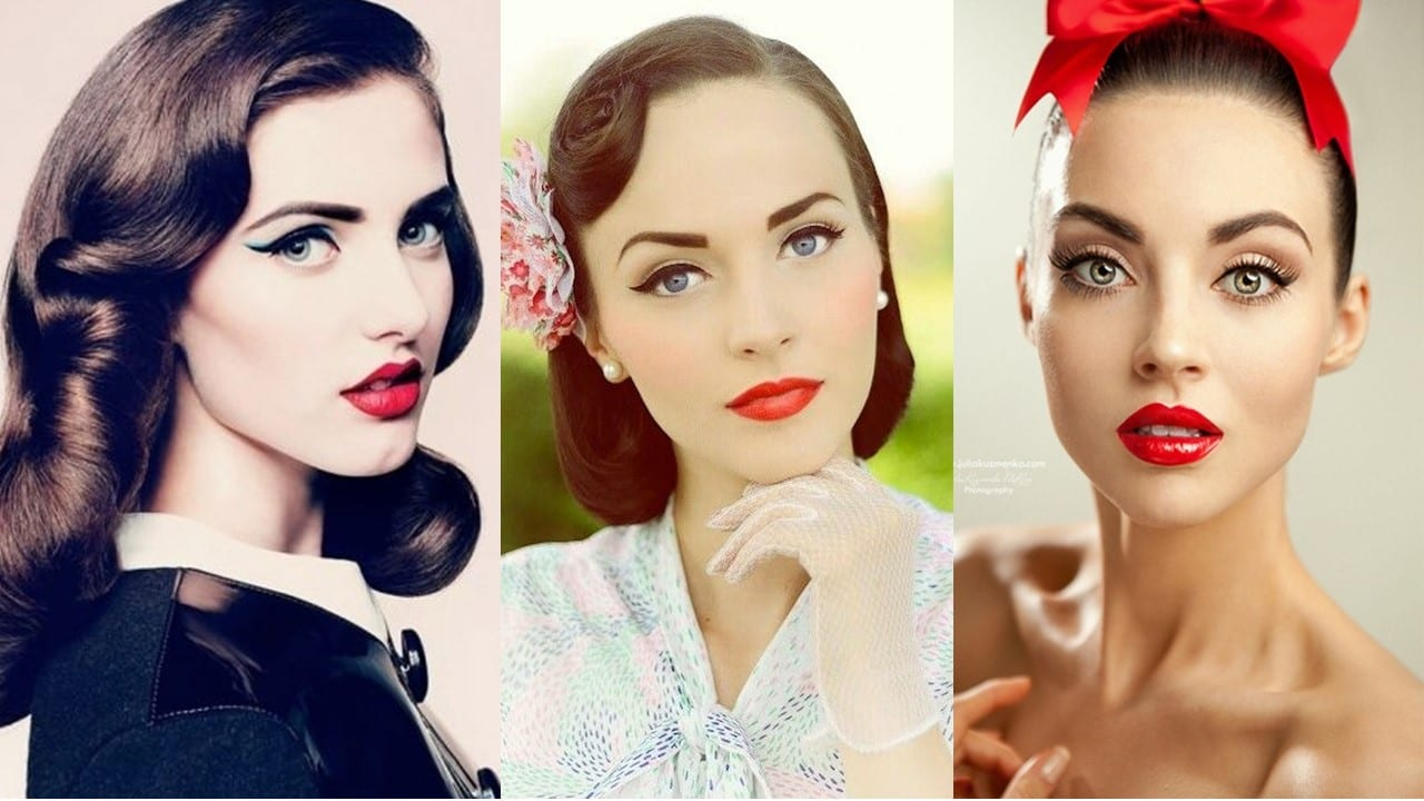 The Beauty Edit: 1950s Make Up Look