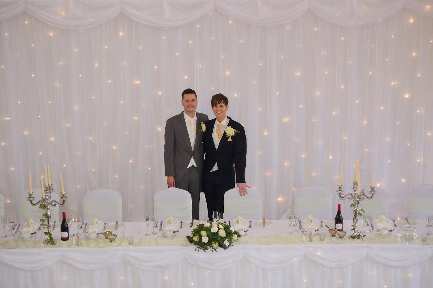 Real wedding – Ryan and Callum at The Grand Hotel