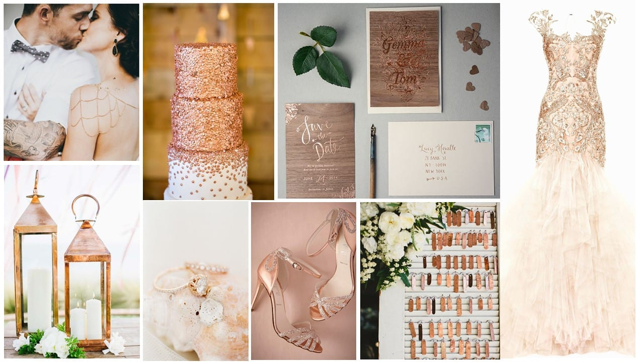 Mood Board Mondays – Rose gold