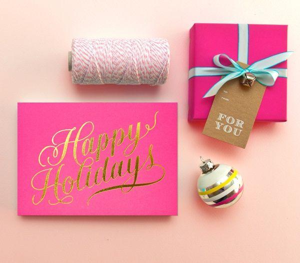 KTB Loves: Gorgeous Christmas Gift Wrap Ideas