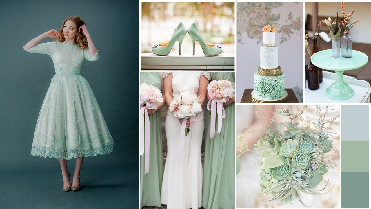 Mood Board  – Lucite Green