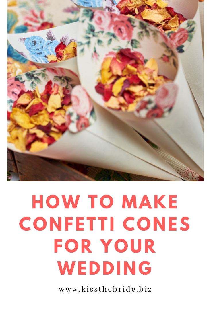 How to make confetti cones