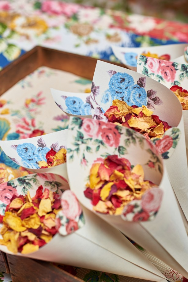 How to make pretty Confetti cones
