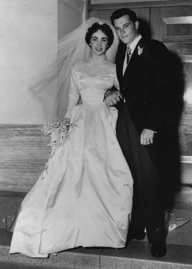 Weddings we wish we had been invited to #2 – Elizabeth Taylor to Conrad Hilton