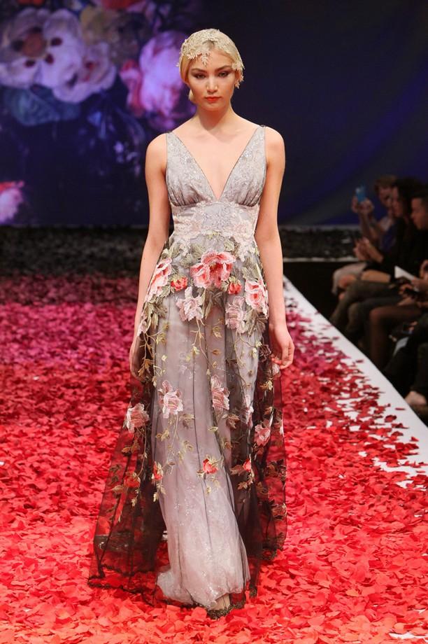 Claire Pettibone Raven gown (Image - www.clairepettibone.com)
