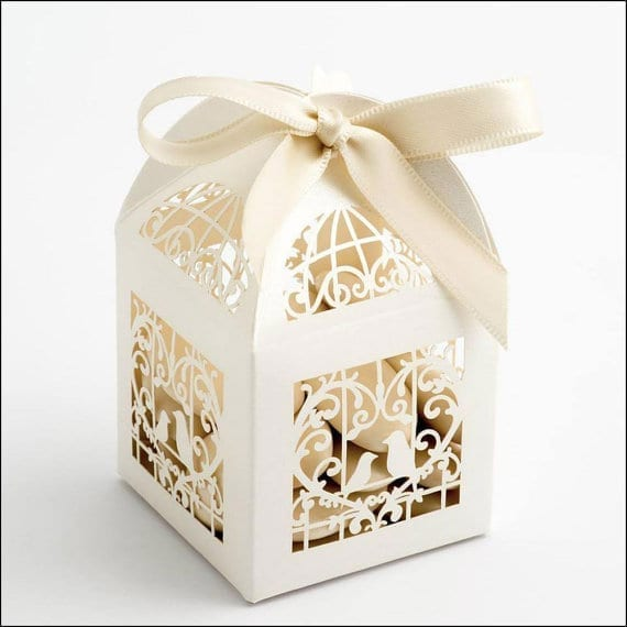 Birdcage Wedding Favour