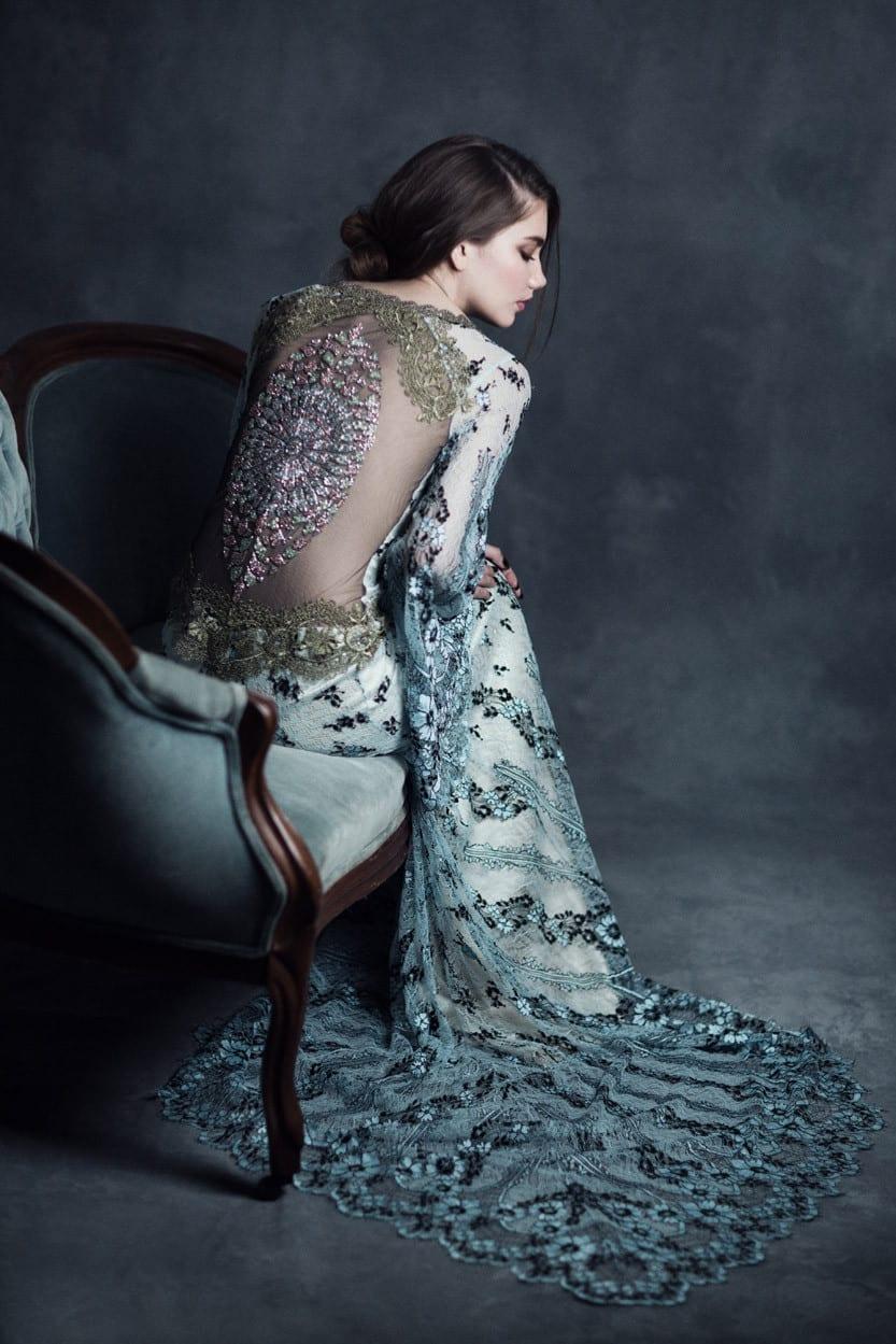 Claire Pettibone Notre Dame gown (Image - www.clairepettibone.com)