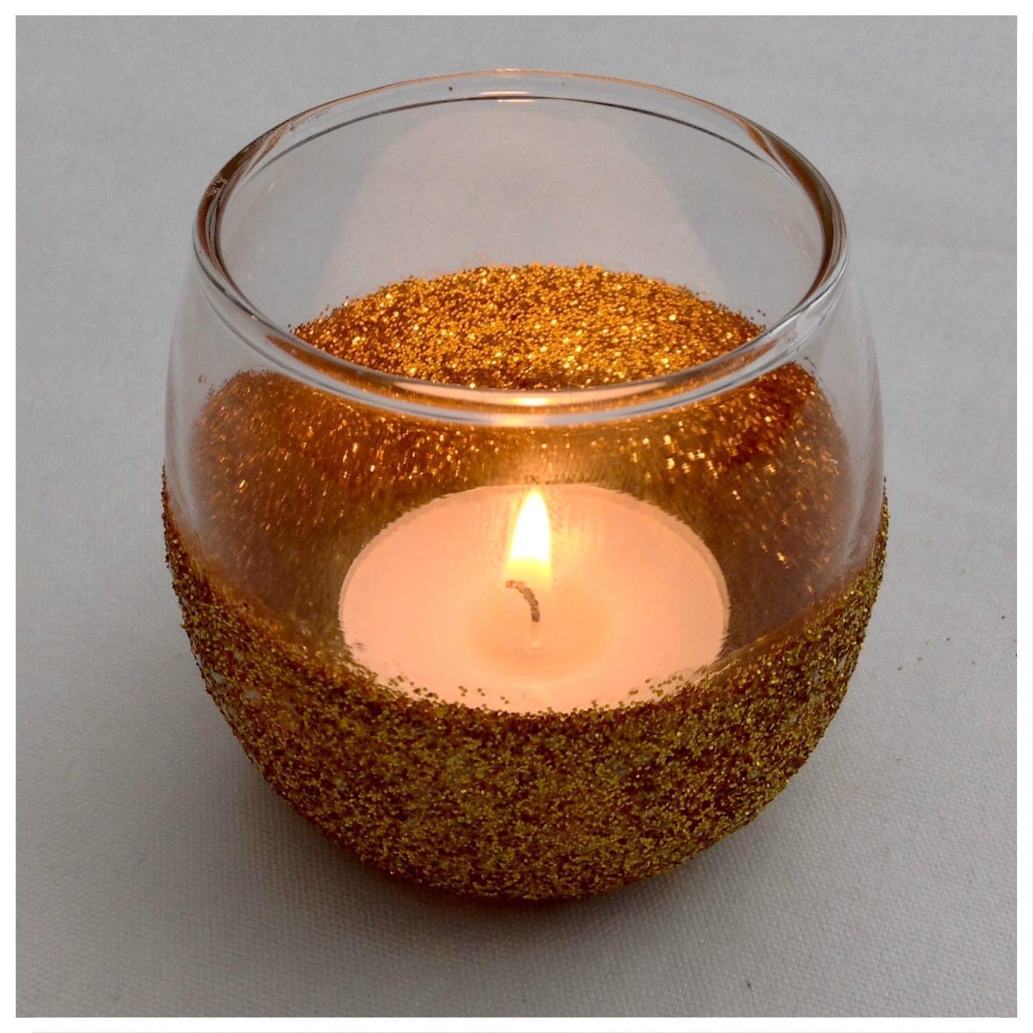 #MakeItMonday – Glitter Candle Holder
