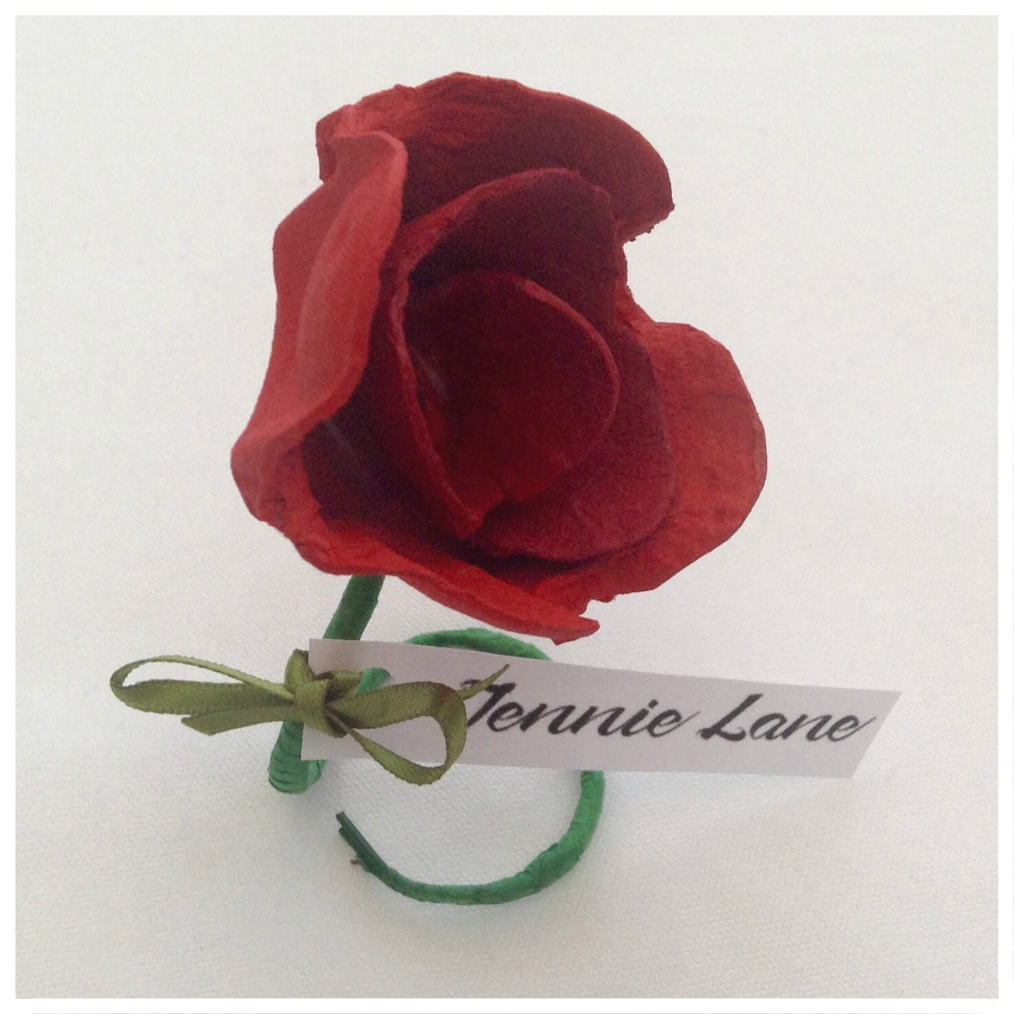 #MakeItMonday – Flower Place Card