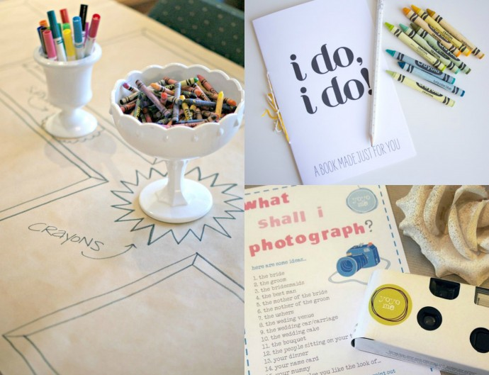 Simple and Easy ways to entertain kids at weddings