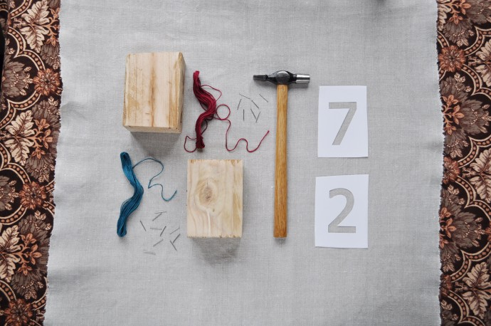 String Art Table Numbers Equipment