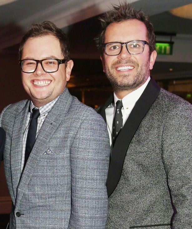 Alan Carr and Paul Drayton