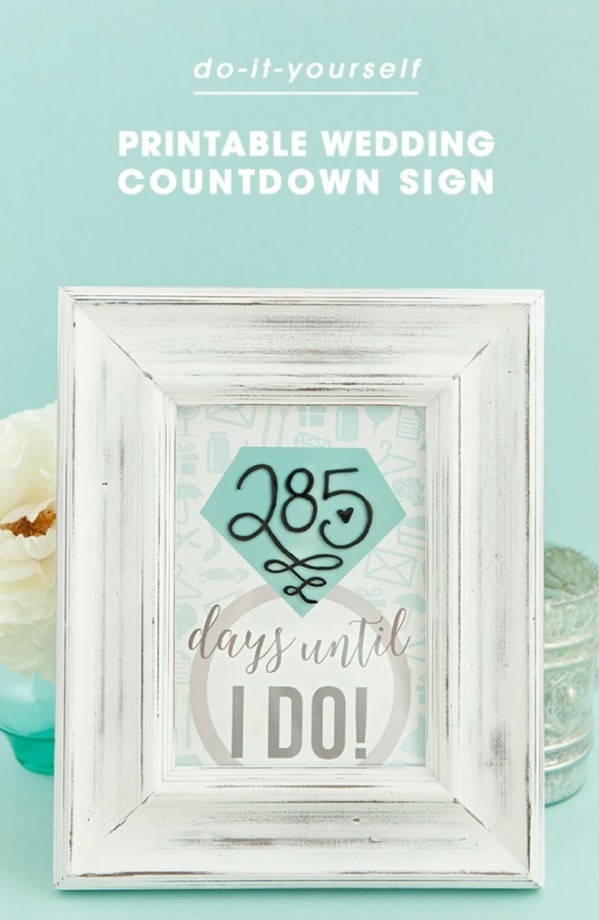 Countdown Sign