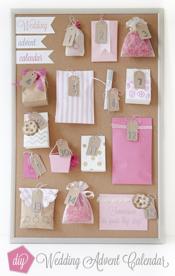 Wedding Advent Calendar
