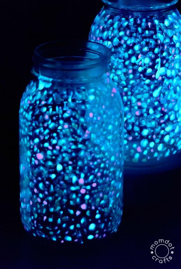 Galaxy Glow Jar