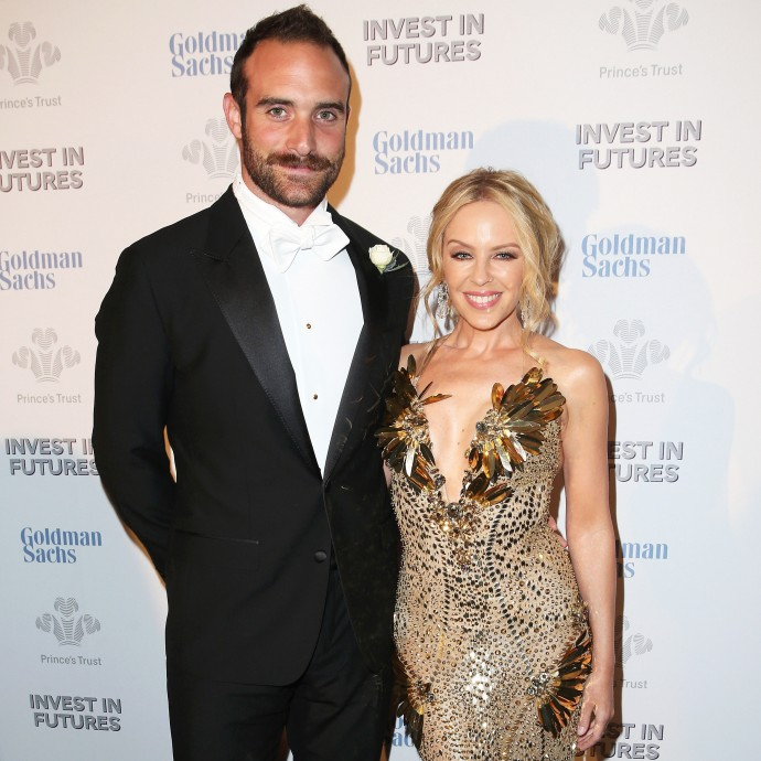 Kylie Minogue and Joshua Sassa