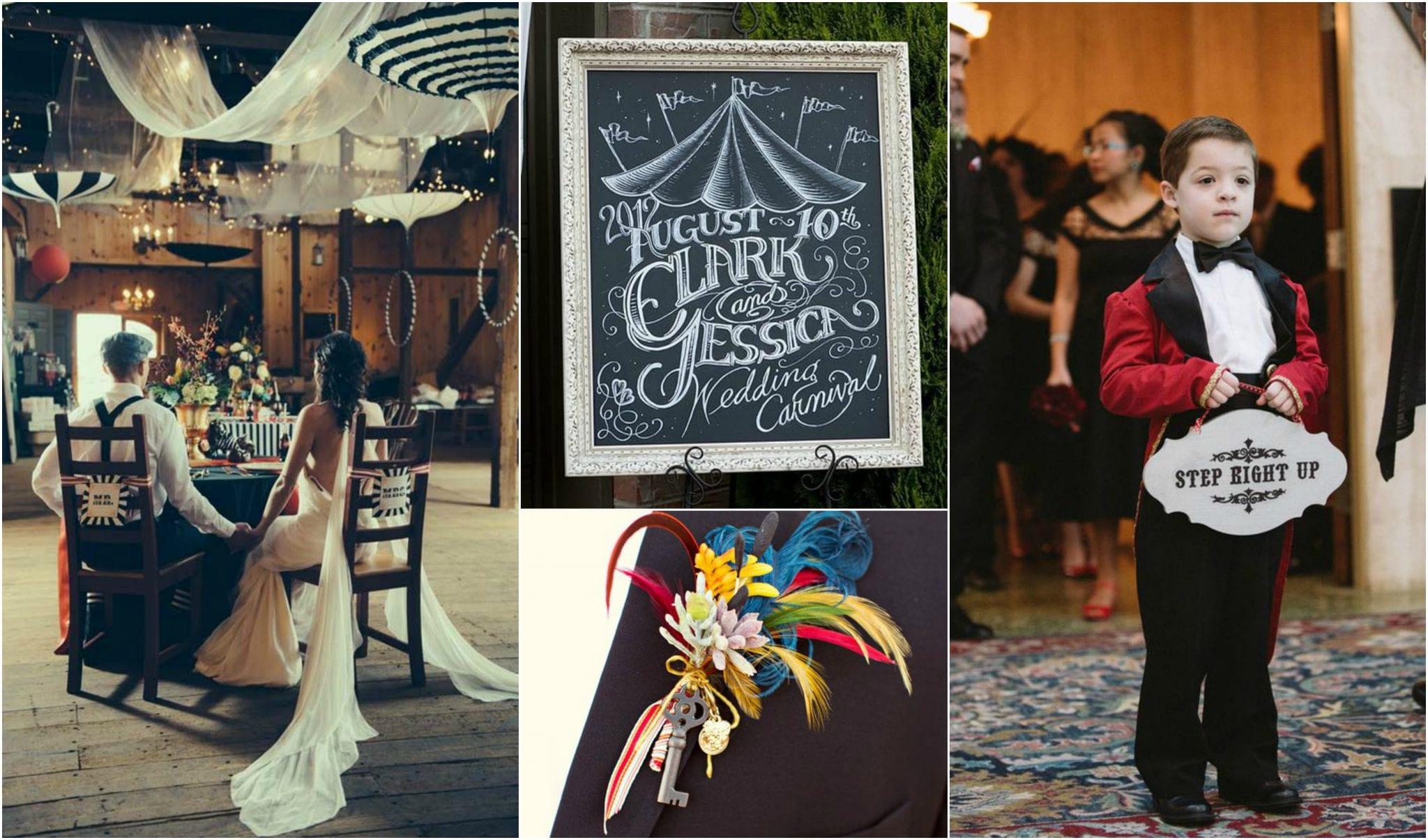 Carnival wedding MoodBoard