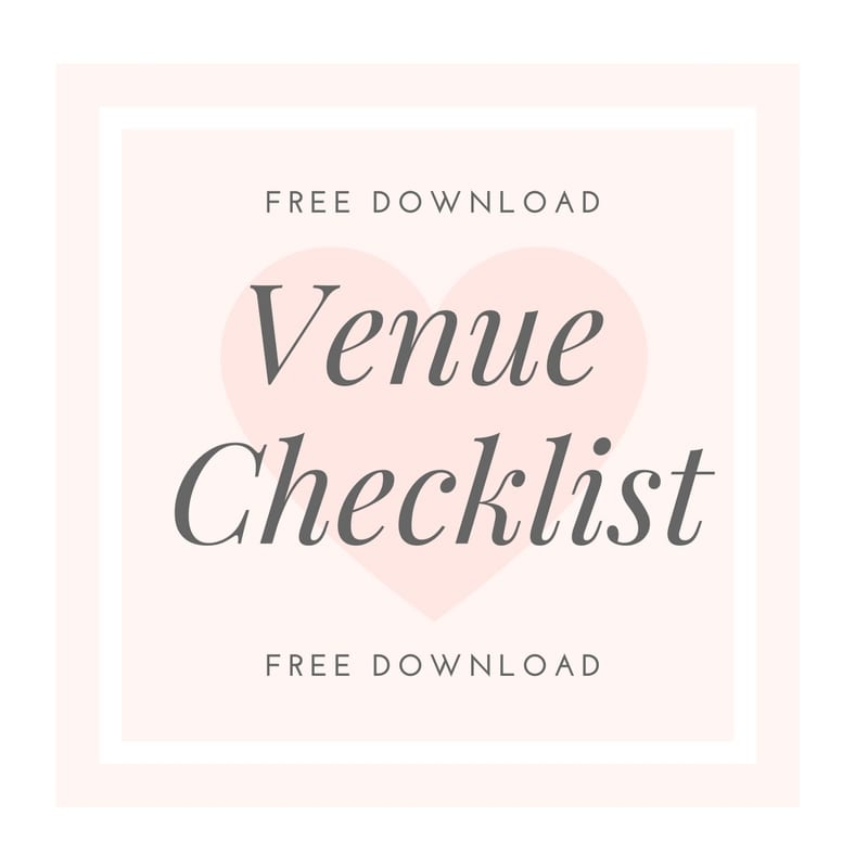 Questions to ask your Venue