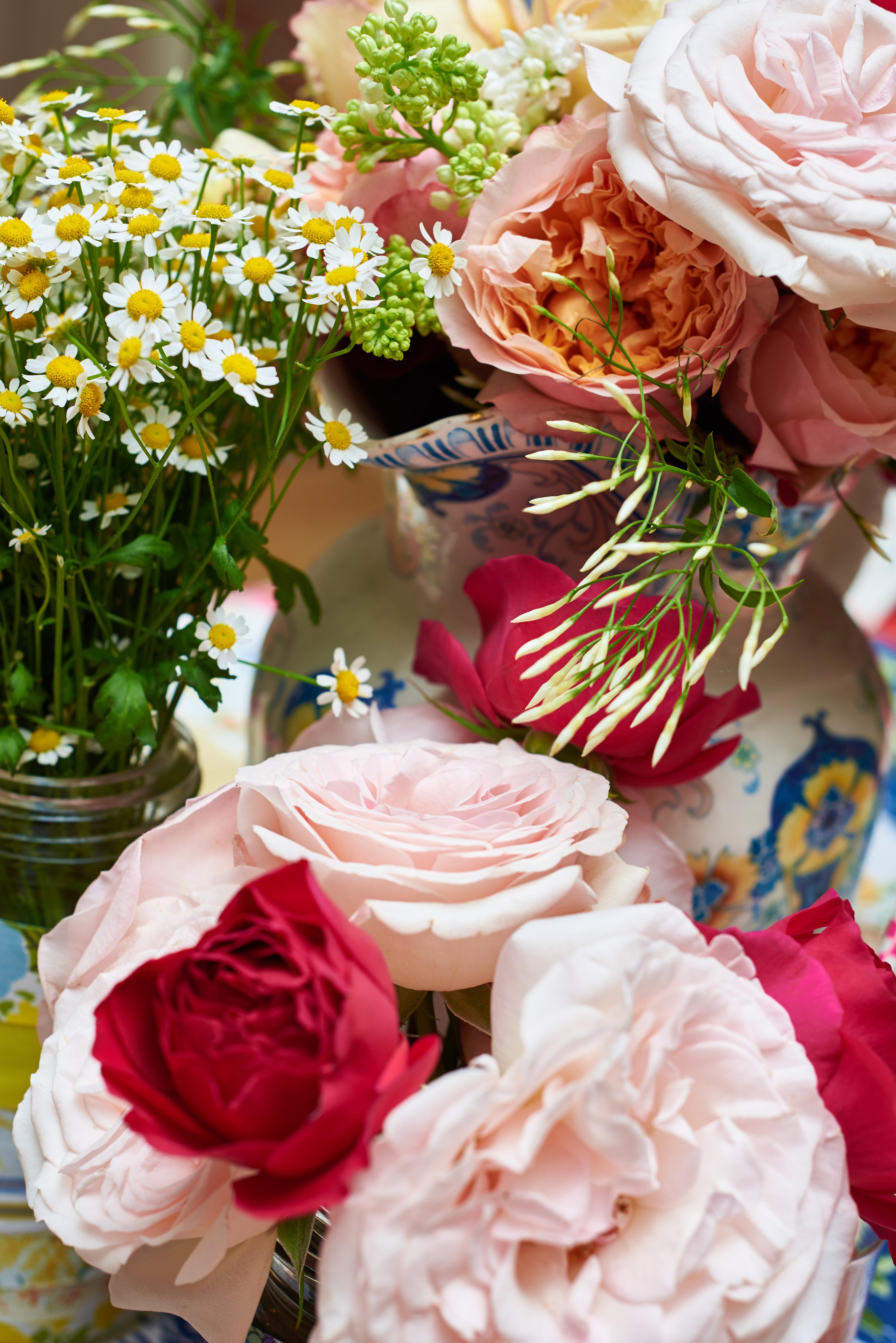 Floral Romance in an English Garden