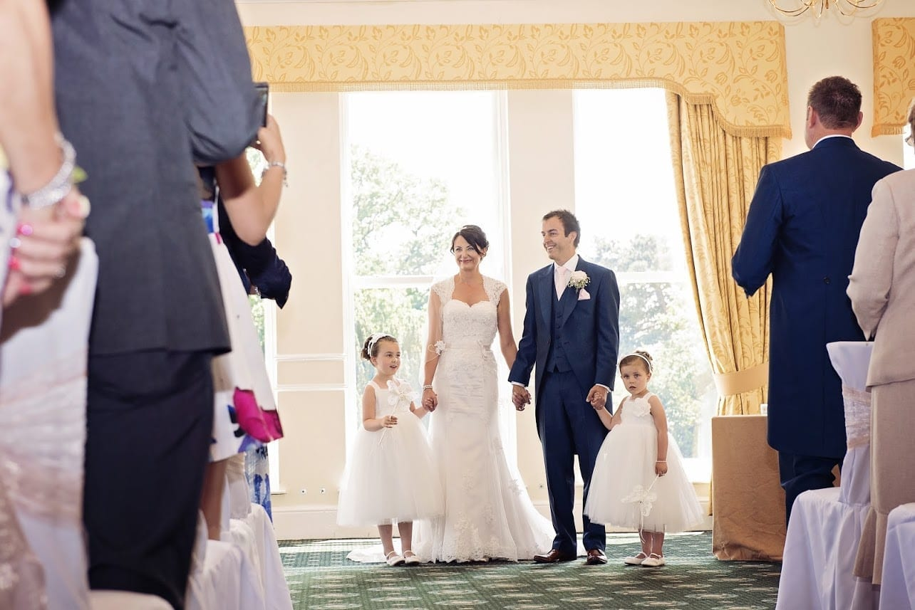 Real Wedding: Joanne and Ian Tyerman's Emotional Grinkle Park Wedding