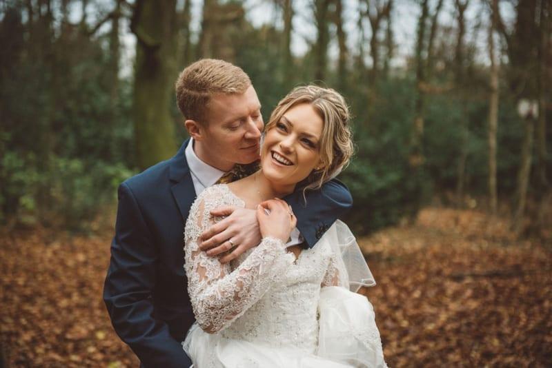 Real Wedding: Charlotte and Stephen's Christmas Themed Wedding Day