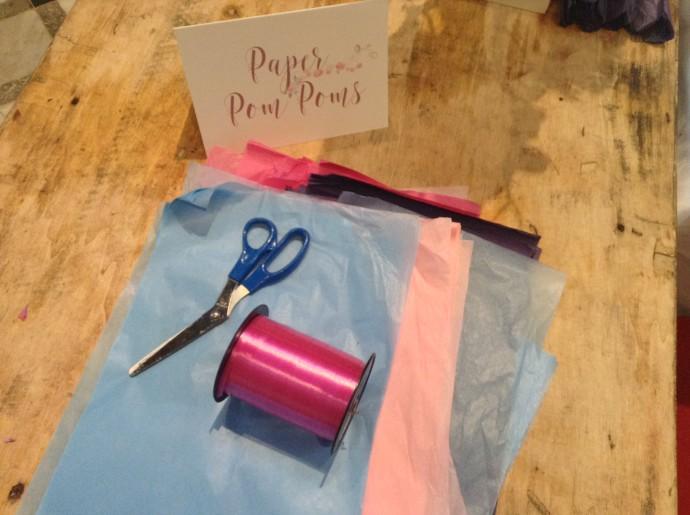 Paper Pom Pom Equipment