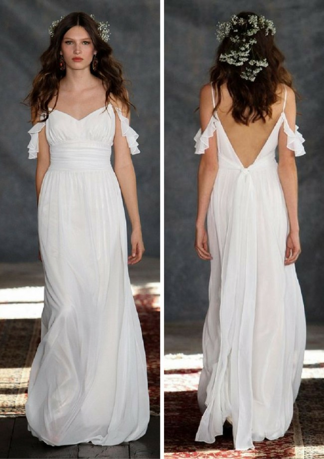 Claire Pettibone Wedding Dress - Romantique