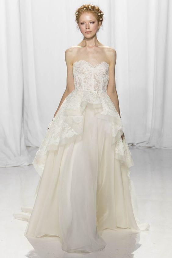 The star of New York Bridal – Reem Acra