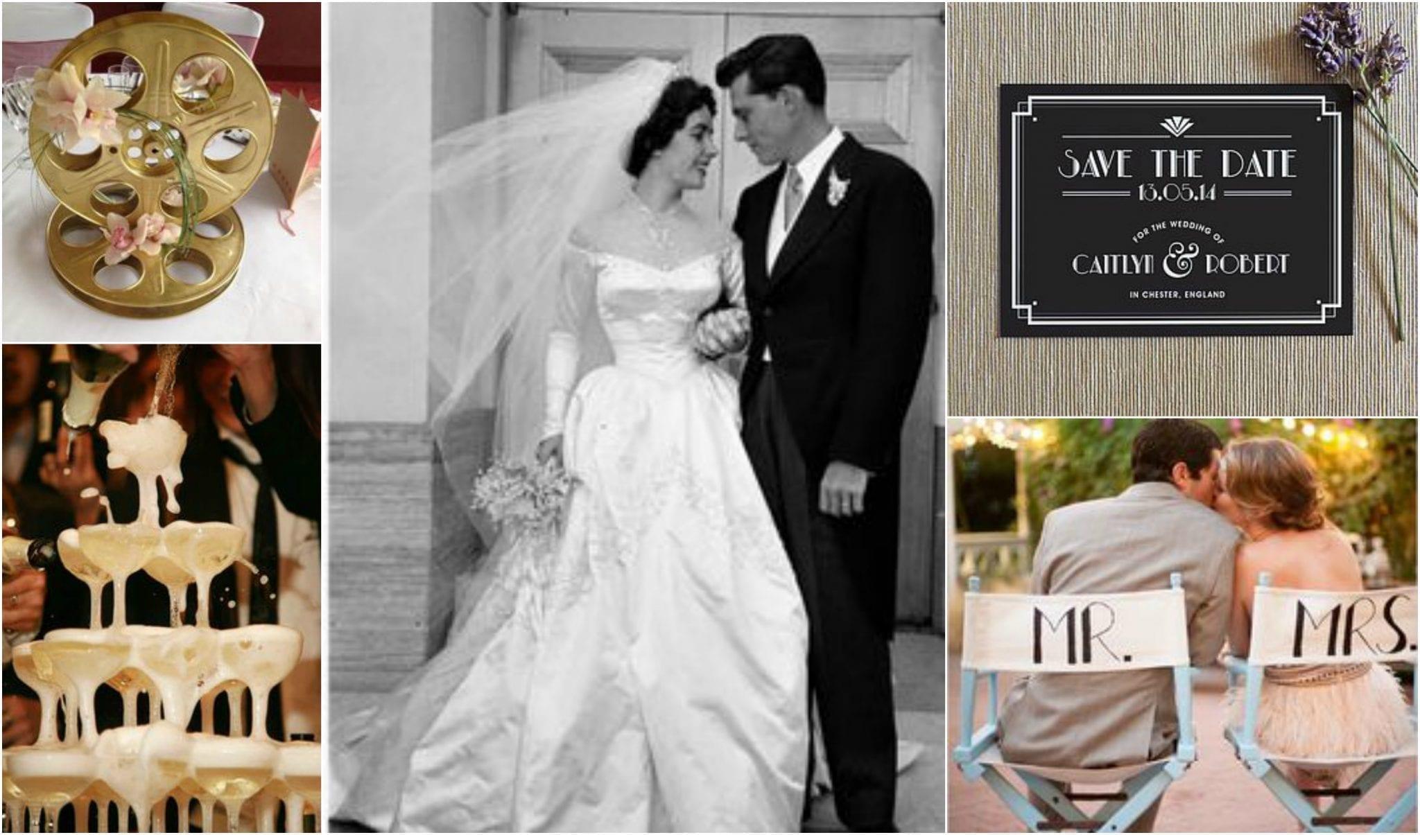 Hollywood Glamour wedding theme