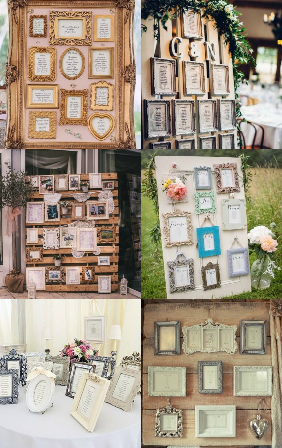 Photo Frame Table Plan