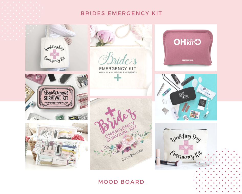 What You Need in your Emergency Bridal Kit