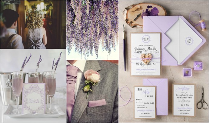 Lilac Lavender Mood Board 2