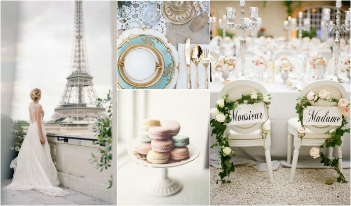 Parisian Chic Mood Board