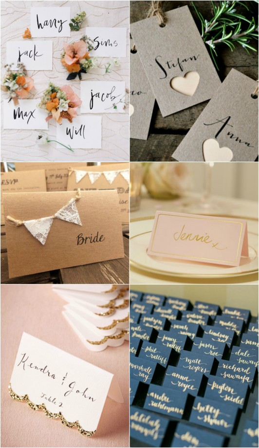 Place Cards Cute and Simple
