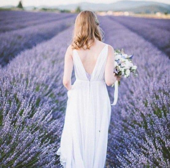 Drifting Through Lilac Lavender Fields