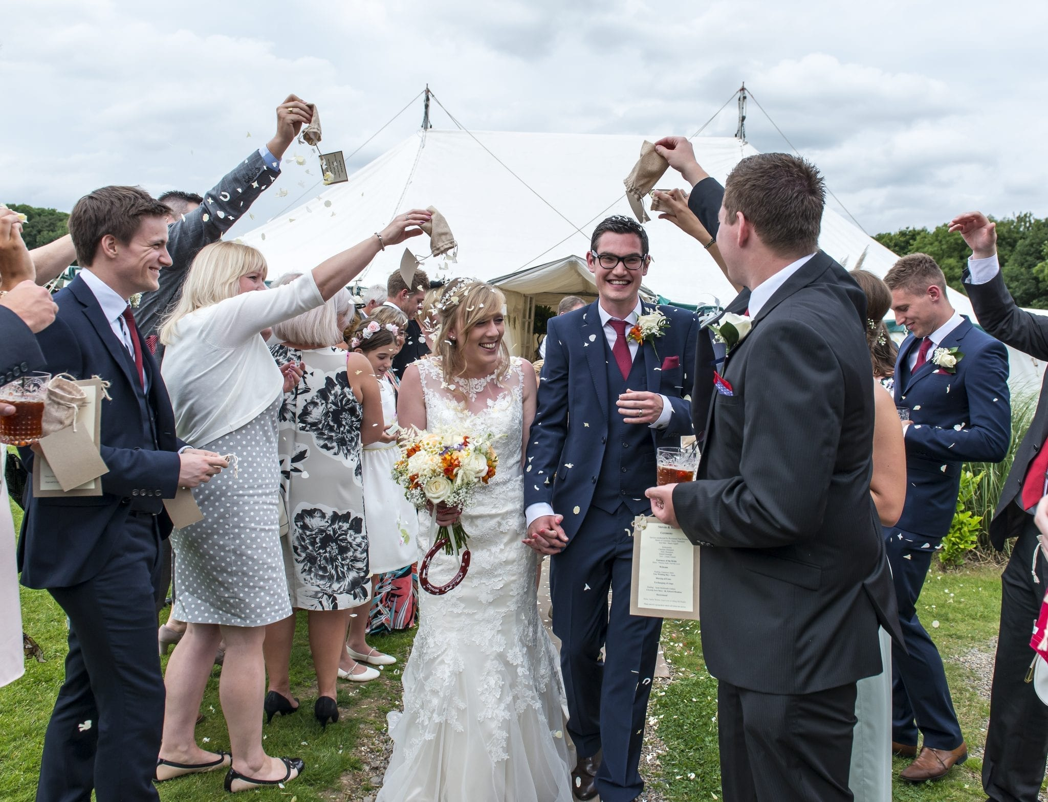 Real Wedding: Harriet and Steven's Vintage Outdoor Wedding