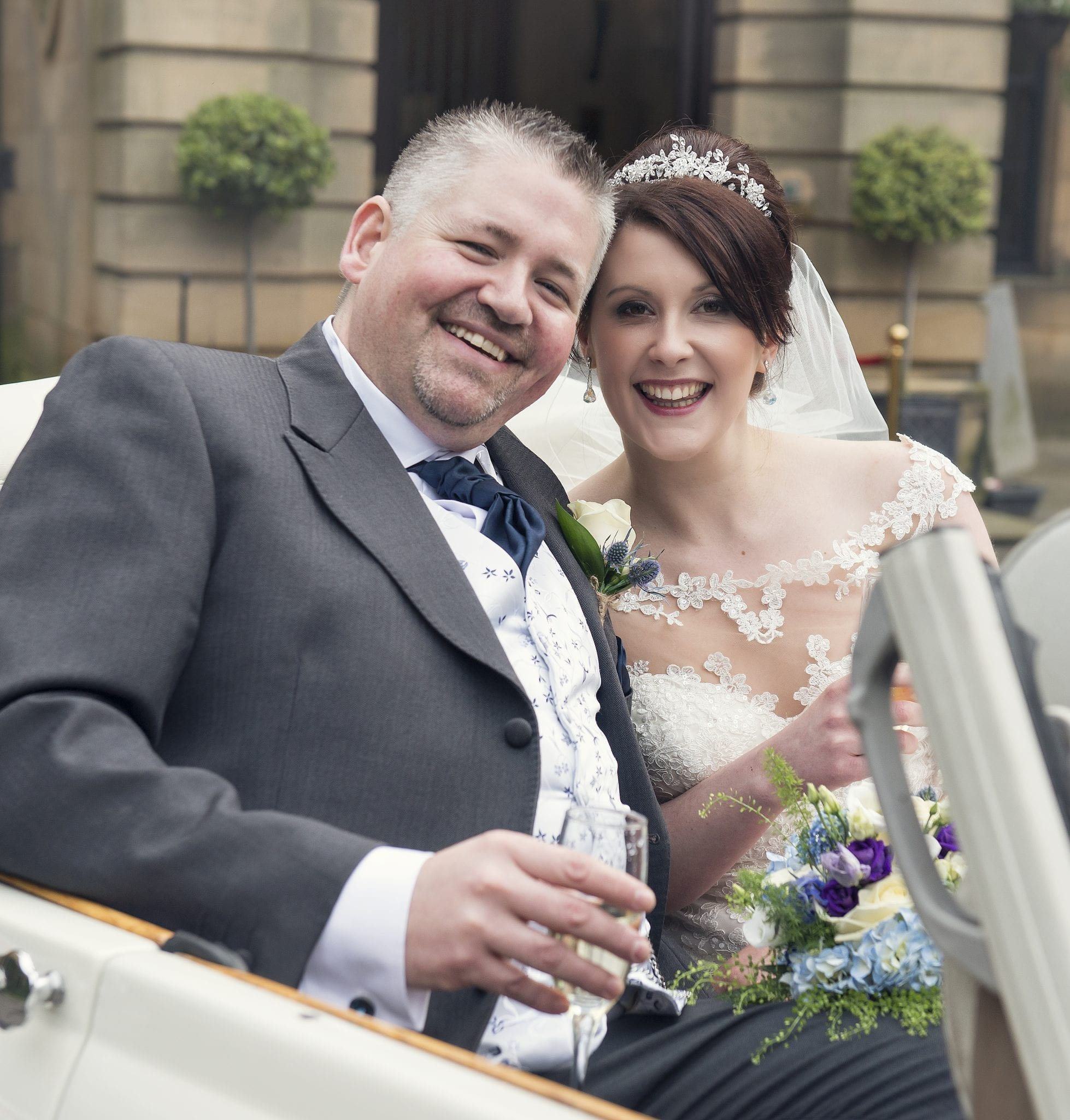 Real Wedding: Sarah and Damien's Crathorne Hall Wedding