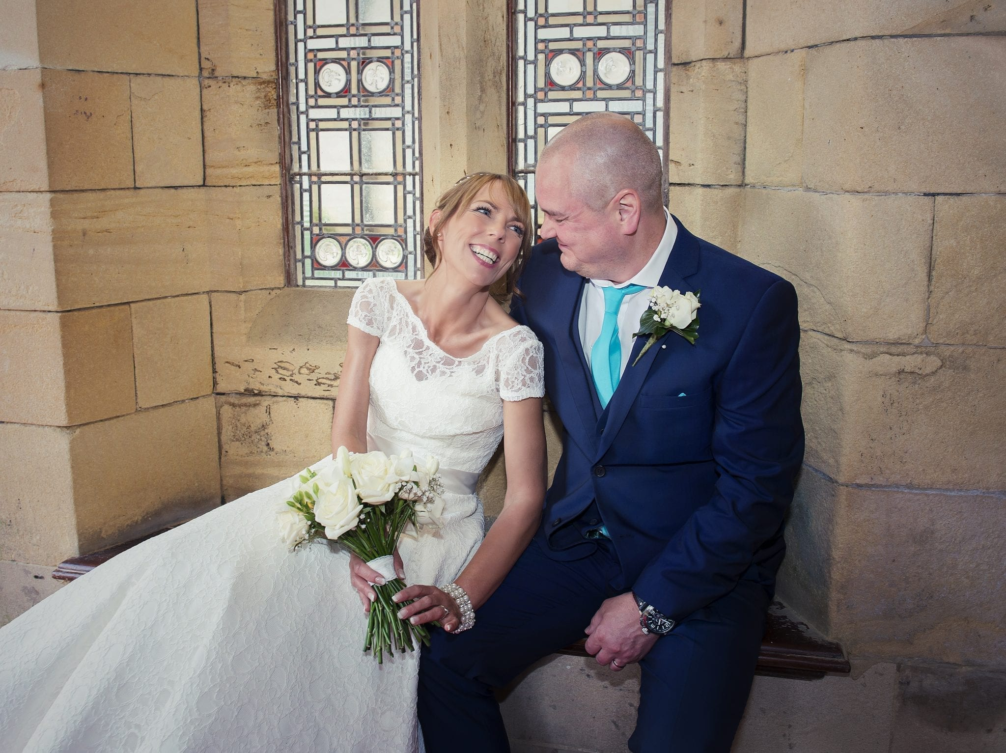 Real Wedding: Catherine and Steven's Colourful 50's Style Wedding