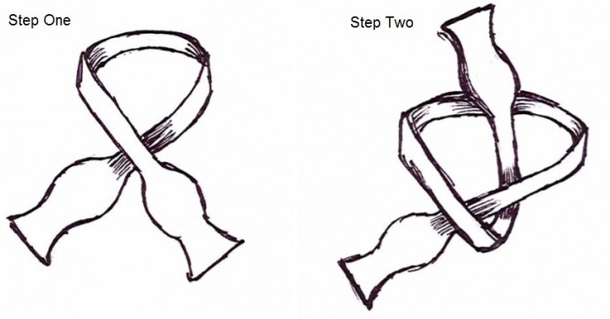 Bow Tie Step 1 2
